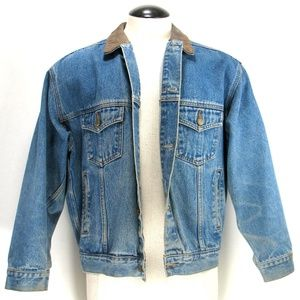 Marlboro Country Store Jackets & Coats - Marlboro Country Store - Denim Trucker Jacket Sz L